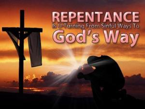 The Taste of Repentance
